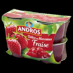 Andros - Truskawka 400g