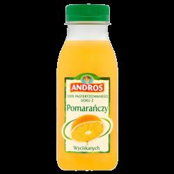 Andros - Pomarańcza 0,25L